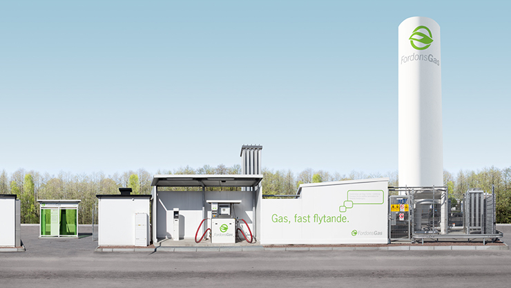 Grand Opening of first LNG/LBG station